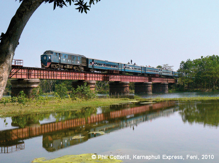 class BD12 on its way to Chittagong