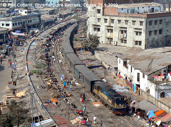 railways in Dhaka
