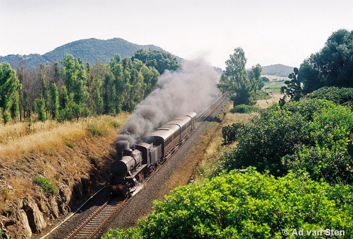 Steam on Sardinia