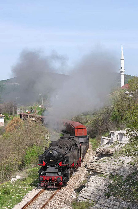 Steam in Bulgaria