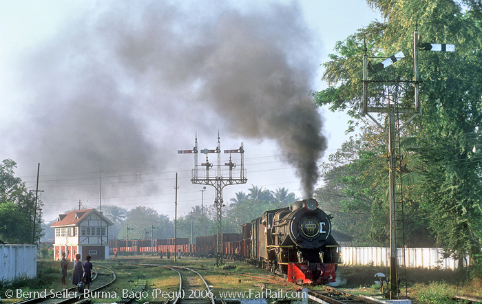 Steam in Burma