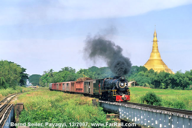 Dampf in Burma