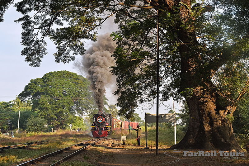 Main Line Steam in Burma (Myanmar)