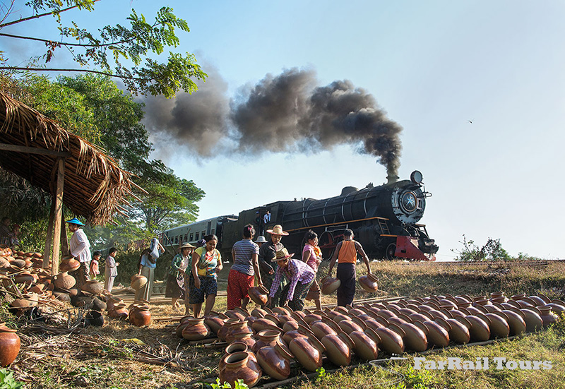 Steam in Burma/Myanmar
