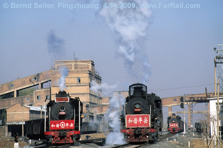3 x steam in Pingzhuang