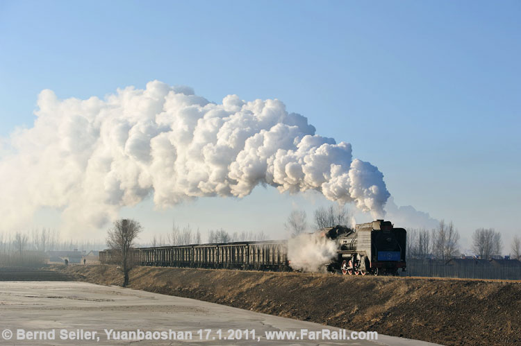 Full steam ahead on one of the gradients in Yuanbaoshan