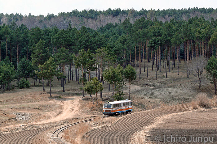 railcar on the forestry railway Xinglongzhen