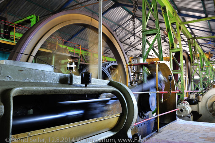 stationary steam engines in Wringin Anom