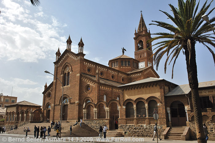Cathedral in Asmara, Eritrea