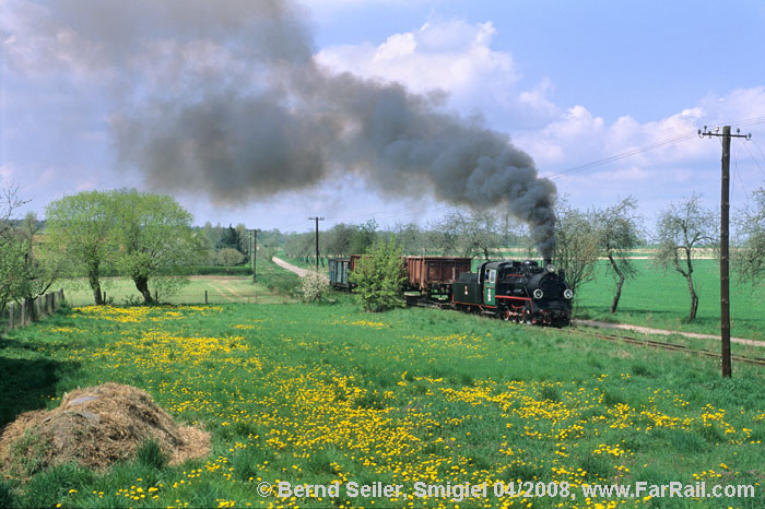 SMIGIEL NARROW GAUGE FREIGHT TRAIN
